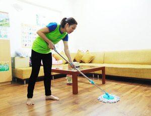 Dịch vụ vệ sinh theo giờ tphcm