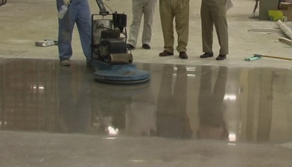 dịch vụ mài sàn bê tông của thế giới sạch