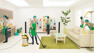 Dịch vụ vệ sinh công trình Cleanworld